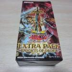 【遊戯王フラゲ】「エクストラパック-ナイツオブオーダー-」1BOX開封