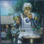 「切り盛り隊長」笑えて強い良カード。頼れる隊長は料理もできる!そしてあのキャラクターの姿も…。