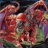 除外カードの増加で注目される《紅蓮魔獣ダ・イーザ》くん3歳(レベル3)。除外をパワーに!