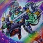 《電磁石の戦士マグネット・ベルセリオン》α・β・γ 生まれ変わったマグネット・ウォリアー!!【SD-武藤遊戯-】