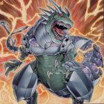 【ストラクチャーデッキR-恐獣の鼓動】《究極伝導恐獣/アルティメットコンダクターティラノ》…強いじゃん!