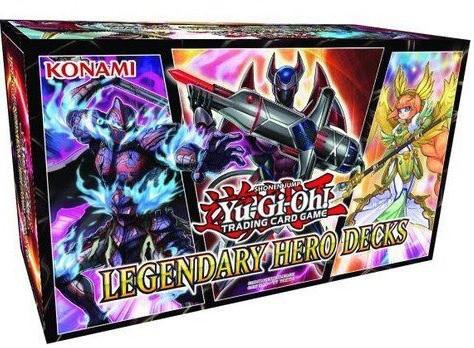 【海外新規・Legendary Heroes Decks】D-HERO、極星、幻影騎士団強化が表紙を飾る!