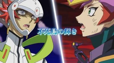 【遊戯王VRAINS(ヴレインズ)第95話感想】超転生リンク召喚!二人の友情が作り出した「転生炎獣」新たな切り札!