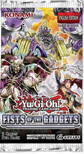 【遊戯王TCG】Fists of the Gadgets:2019年8月23日発売決定!炎星・ガジェット新規収録